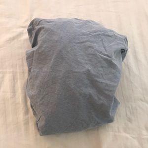 Ralph Lauren 100% cotton blue bedsheet